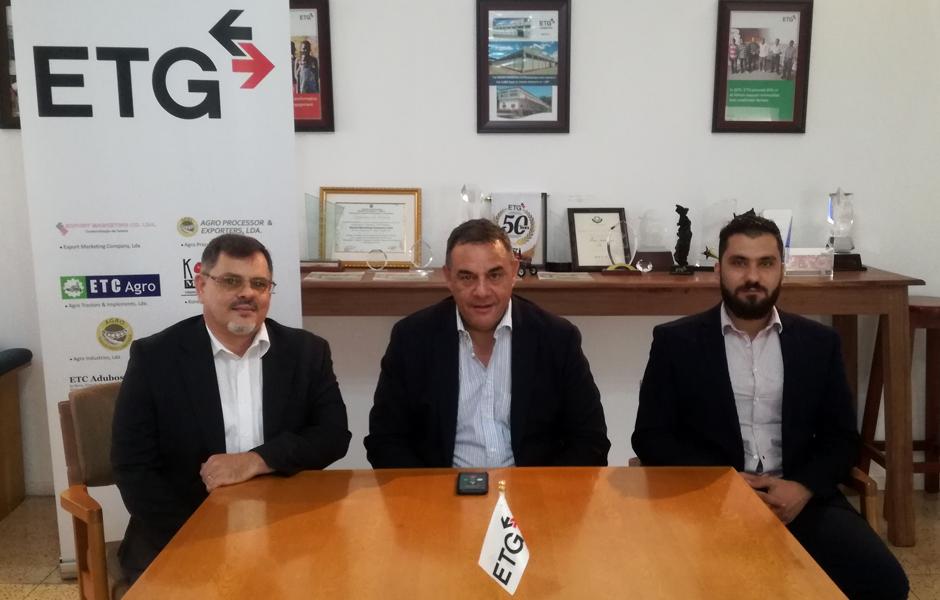 Vitor Marques, Guillermo Machado, Ali Fouad